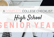 A Complete College Prep Checklist: High School Senior Year