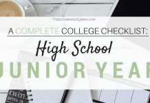 A Complete College Prep Checklist: High School Junior Year
