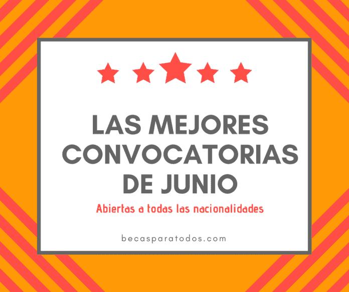 Convocatorias del mes: becas a las que puedes aplicar en junio