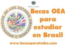 Becas OEA para estudiar posgrado en Brasil