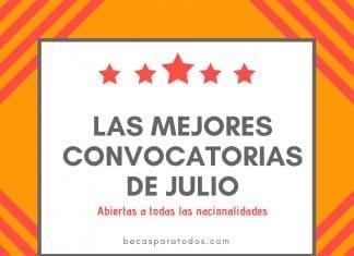 Las mejores convocatorias de julio, abiertas para todos