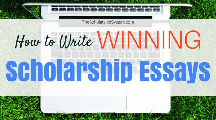 How to Write Winning Scholarship Essays