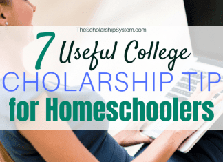 7 Useful College Scholarship Tips for Homeschoolers
