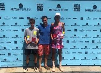 Bilbao corona a Daniel Matheu y Andrea Burguete como campeones del Mutua Madrid Open Sub 16