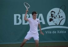 """Luis Foix, tenista a punto de empezar su aventura en EEUU: """"Es un proceso duro, pero hay que luchar por ello"""""""