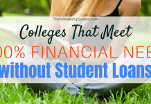 Colleges That Meet 100% Financial Need without Student Loans