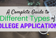 A Total Overview Of the Various Kinds Of College Applications