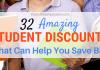 32 Fantastic Trainee Discount Rates That Can Assist You Conserve Big
