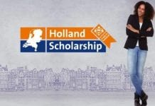 Becas del gobierno de Holanda para extranjeros, pre y posgrado.