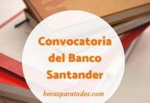 Premio de Investigación Científica Universitaria para chilenos, Banco Santander