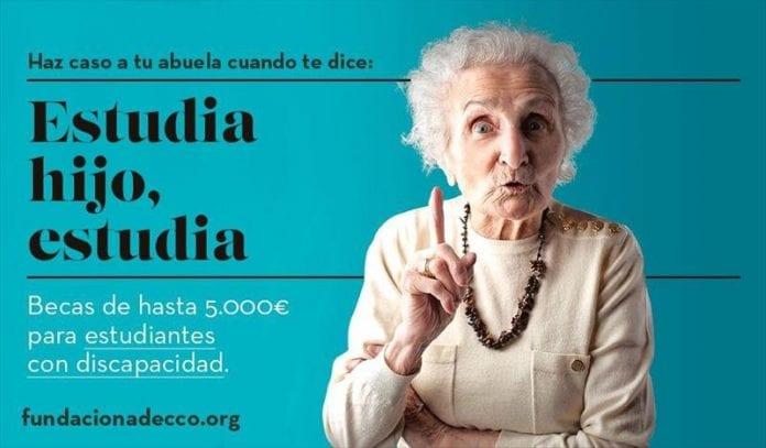 Becas de Adecco para estudiantes españoles fool discapacidad