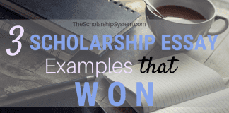 3 Scholarship Essay Examples That Won