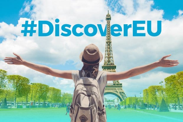 La Comisión Europea dará 12000 billetes a jóvenes europeos, DiscoverEU