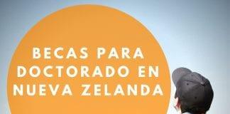 Becas para estudiar doctorado en diversas áreas en Nueva Zelanda