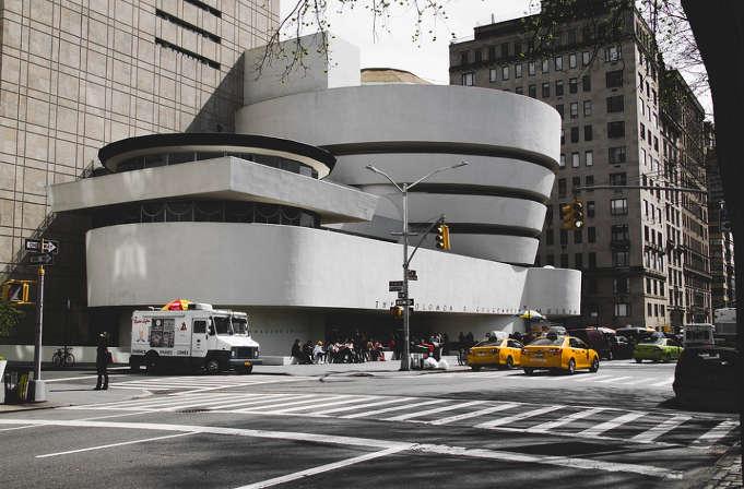 Prácticas en el Museo Guggenheim en Nueva York