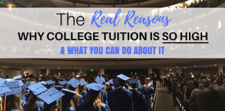 The Genuine Reasons That College Tuition is So High and What you Can Do About it