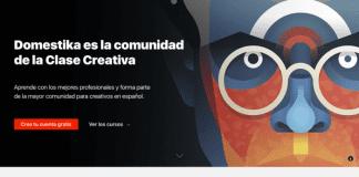 Becas Domestika, para facilitar el aprendizaje con cursos online.