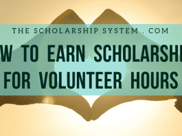 How to Make Scholarships for Volunteer Hours
