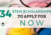 34 STEM Scholarships to Obtain Now