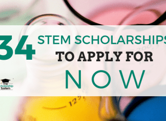 34 STEM Scholarships to Obtain Now