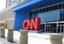 Prácticas de periodismo en la CNN en Londres