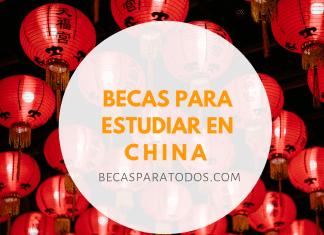 Becas OEA para estudios de grado y posgrado en China
