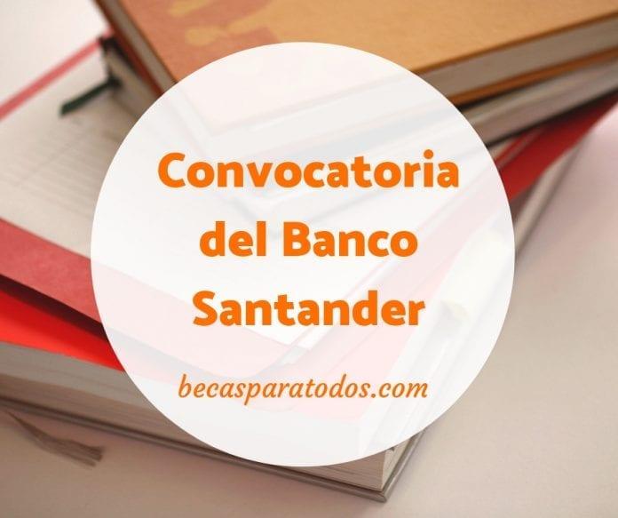 Becas Santander Erasmus, para universitarios en España