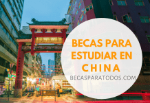 Becas a China, para estudiar chino, Instituto Confucio