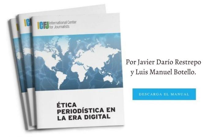 Handbook de Ética Periodística en la age digital, gratis en línea