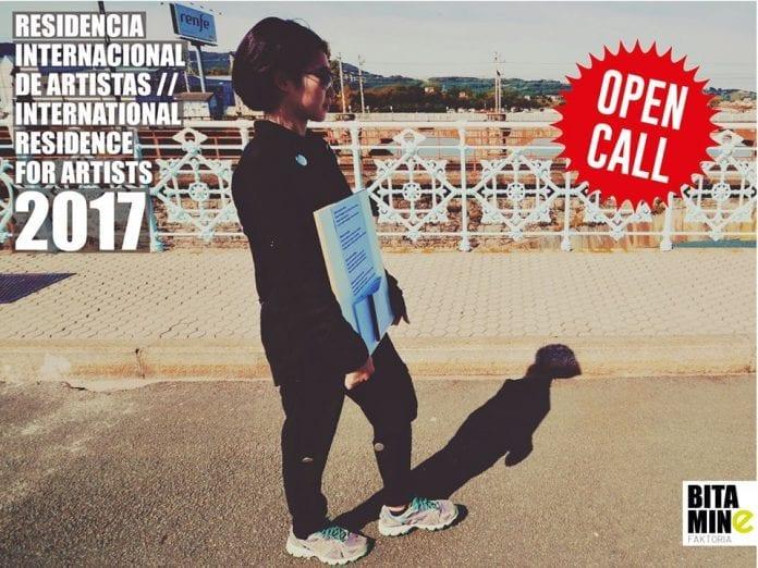 Haz una residencia artística en España, Convocatoria Bitamine Faktoria.