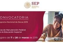 Becas de manutención para mexicanos, educación exceptional, SEP– SES