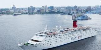 Voluntariado Peace Boat, intérprete de idiomas en el Barco de la Paz