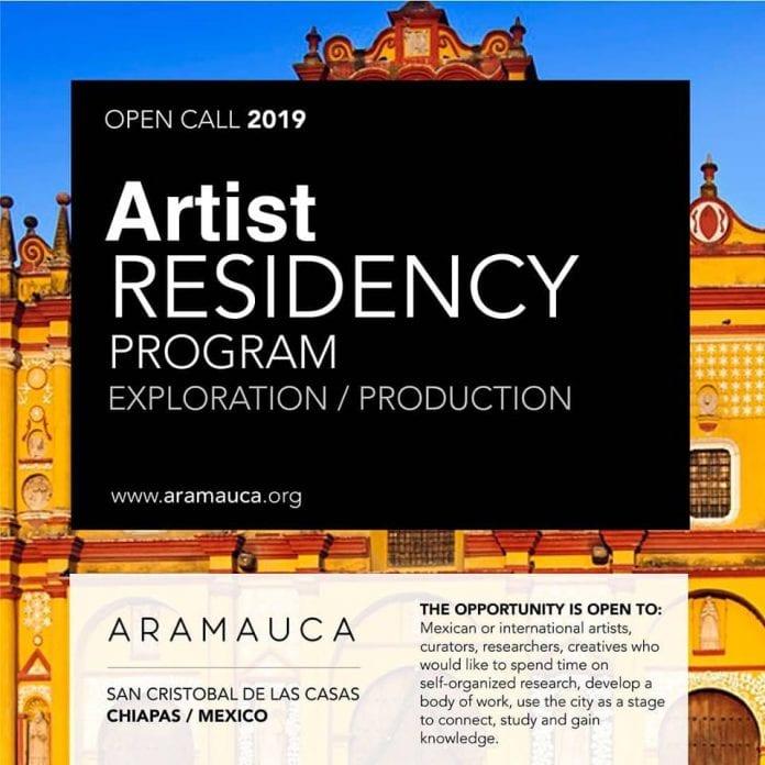 Aramauca, residencias para artistas internacionales