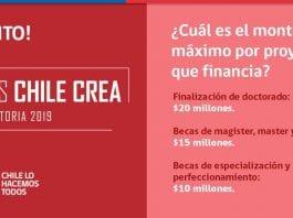 Becas Chile Crea, especialización y posgrado en cultura y arte
