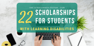 22 Scholarships for Trainees with Knowing Disabilities