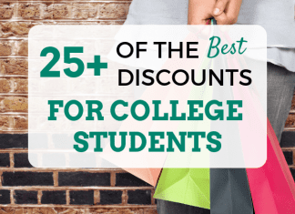 25+ of the very best Discount Rates for University Student