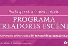 Becas FONCA, convocatoria para creadores escénicos mexicanos.