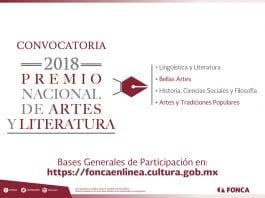 Premio Nacional de Artes y Literatura, FONCA México.