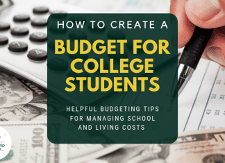 How to Produce a Spending Plan for University Student