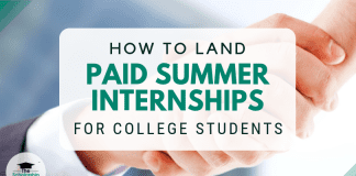 How to Land Paid Summer Season Internships for University Student