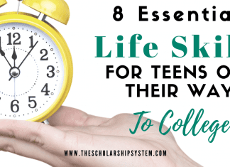 8 Important Life Abilities for Teenagers on Their Method to College