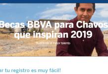 Becas Chavos que inspiran, Fundación BBVA