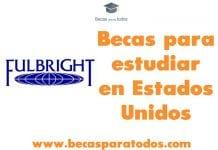 Becas para visitantes investigadores colombianos, programa Fulbright.