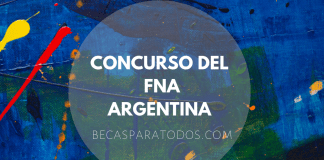 Concurso de diseño FNA, Fondo Nacional de Artes, Argentina