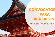 Becas Sakura para educación media en Japón
