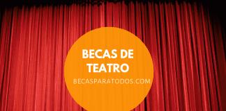 Becas FONCA para residencias de teatro