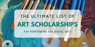 The Ultimate List of Art Scholarships for Carrying Out and Visual Art