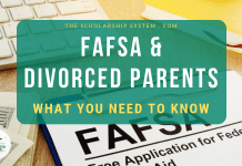FAFSA & & Divorced Parents– What You Required to Know