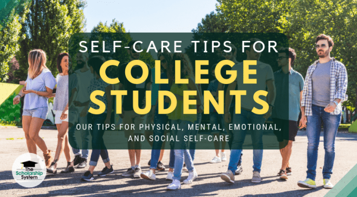 Self Care Tips for University Student