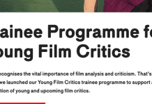 Becas Young Movie Critics, curso de crítico de cine en Celebration de Rotterdam